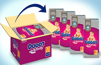 Ir a Nuevos Formatos Ahorro Dodot Activity - Exclusivo Online-