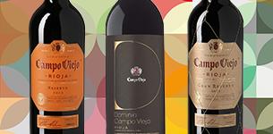 Ir a Hasta un -30% de dto - Campo Viejo - D.O.Ca. Rioja y D.O. Cava
