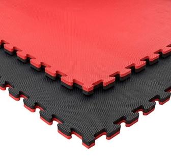 Tatami Puzzle - Pack 6 Pcs - Medidas : 100 X 100 X 2 Cm (color : Negro Y  Rojo) con Ofertas en Carrefour | Las mejores ofertas de Carrefour