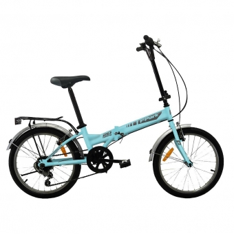 "Folding Park 20"" Plegable - Azul/Gris"
