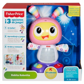 Fisher-Price - Robot Interactivo Robita