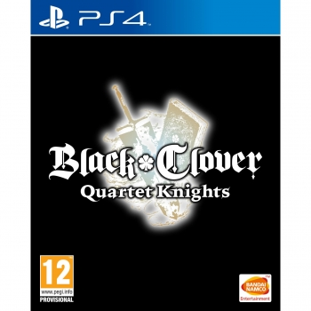 Black Clover Quartet Knights para PS4