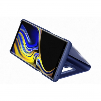 Funda Clear View Standing Cover Samsung Note 9 - Azul