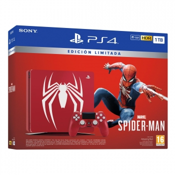 PS4 Slim 1TB Edicion Limitada con Marvel's Spider-Man