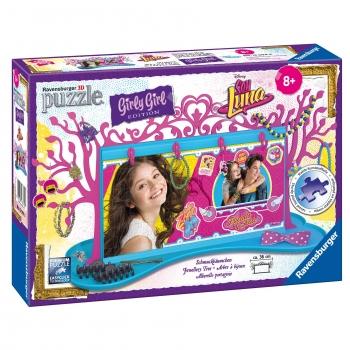 Ravensburger - Puzzle 3D Girly Girl Soy Luna Colgador de Joyas 108 Piezas d828a9a686d1