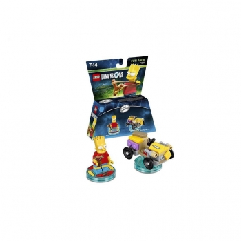 Lego Dimensions Fun Pack The Simpsons Bart Lego Dimensions