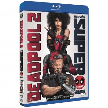 Deadpool 2. Versión Super Grande. Blu-Ray
