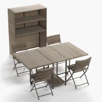Muebles de jardín Bora bora - Carrefour.es