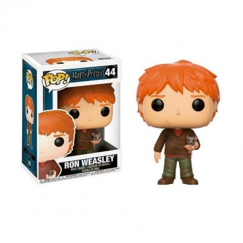 Figura Funko Pop! Harry Potter: HP - Ron Weasley W/ Scabbers