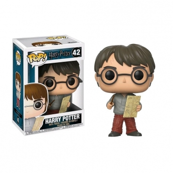 Figura Funko Pop! Harry Potter HP - Harry W/ Marauders Map