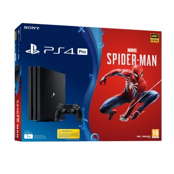 PS4 Pro 1TB con Marvel's Spiderman