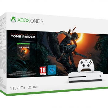 Xbox One S 1TB con Shadow of the Tom Raider