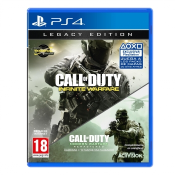 Call of Duty Infinite Warfare Legacy Edition para PS4 - Outlet. Producto reacondicionado