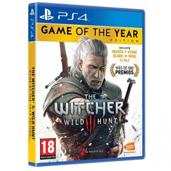 The Witcher 3: Wild Hunt GOTY para PS4