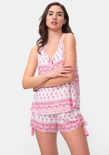 51aba5b2fb9e Pijama corto de dos piezas TEX ...