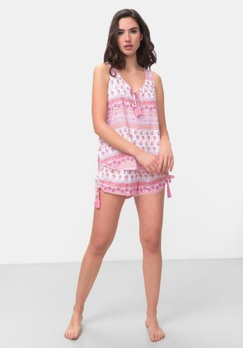 4d2982ee4a6c ... Pijama corto de dos piezas TEX