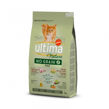 Ultima Nature No Grain Gato Adulto Pavo 1,10 kg
