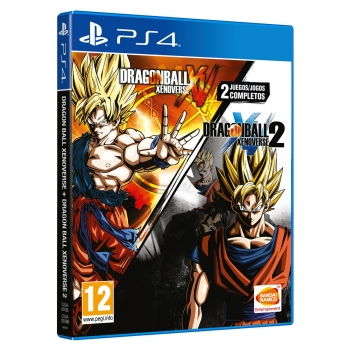 Dragon Ball Xenoverse + Dragon Ball Xenoverse 2 para PS4