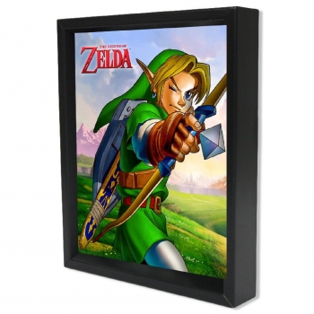 Poster 3D Ocarina Arrow The Legend of Zelda