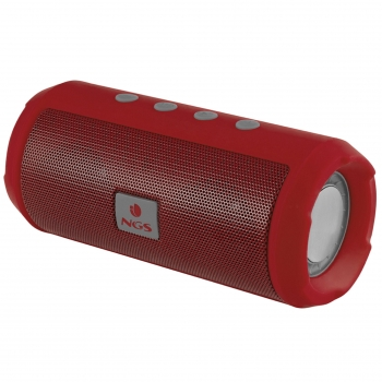Altavoz Inalámbrico NGS Roller Tumbler - Rojo