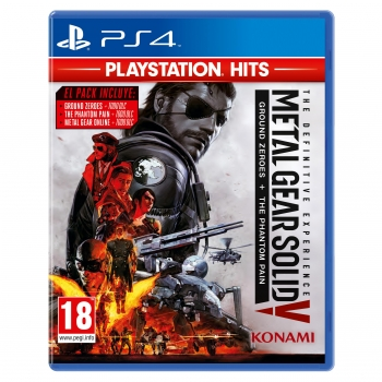 Metal Gear The Definitive Experiencie Hits para PS4