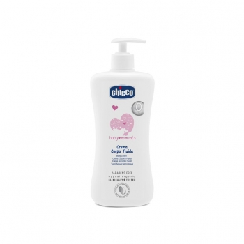 Crema Corporal Chicco Baby Moments 500 ml