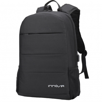 Mochila Innova con Puerto Usb y Power Bank 10.000 Mah