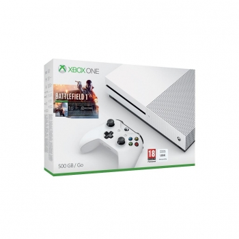 Xbox One S 500GB con Battlefield