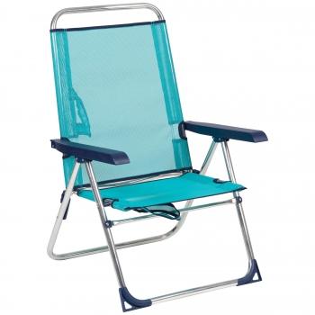 silla playa aluminio 5 posiciones bacan
