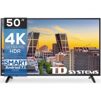 TV LED 127 cm (50'') TD Systems K50DLM8US, UHD 4K, Smart TV