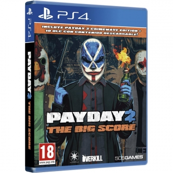 Payday 2: The big score para PS4