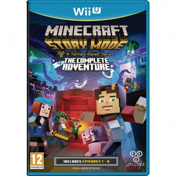 Minecraft: Story Mode The Complete Adventure para Wii U