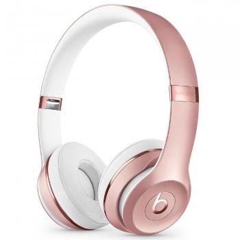 49e28c6b413 Auriculares Abiertos Beats Solo 3 Wireless – Oro Rosa