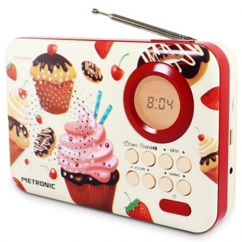 Radio Digital Metronic 477219 - Cupcake