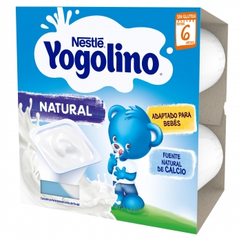 Pack Cuatro Iogolino Natural 100gr