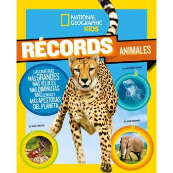 Récord Animales. NATIONAL GEOGRAPHIC