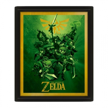 Poster 3D The Legend of Zelda