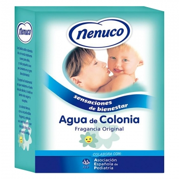 Colonia Nenuco Fragancia Original Cristal 400ml