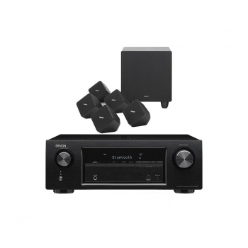 Home Cinema Denon AVR-X520BT con Altavoces SYS-2020