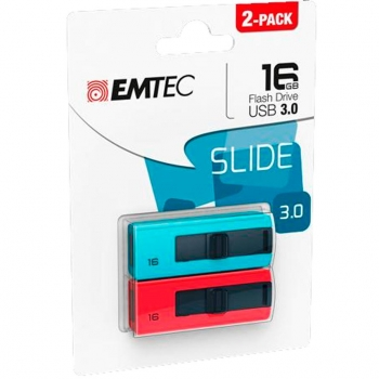 Pack 2 Memoria Usb Emtec 3.1 B250 16GB