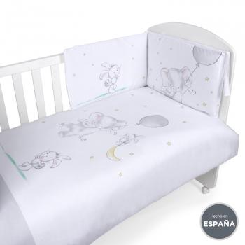 Edredon Y Protector Cuna 60x120.Bebe Ropa De Cuna Protectores Sabanas Fundas Carrefour