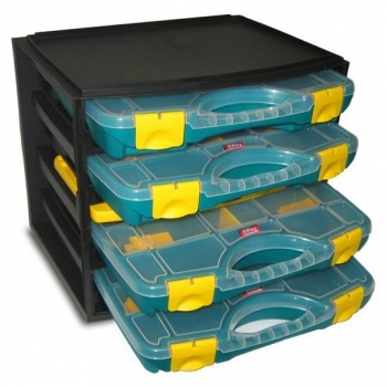 Organizador Multibox con 4 Estuches N1
