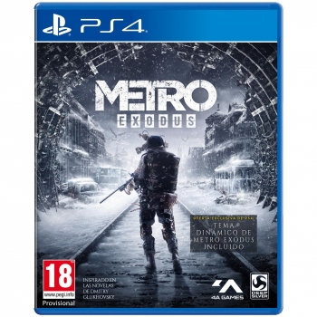 Metro Exodus Day One Edition para PS4