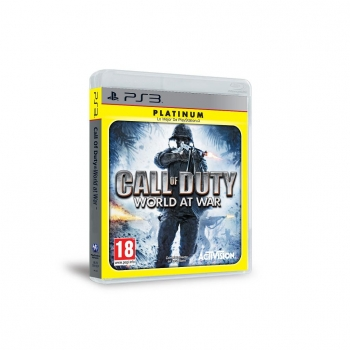 Call of Duty World at War Platinum para PS3