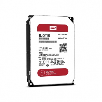 "Disco Duro 3,5"" 8TB WD SATA3 Desktop Red"