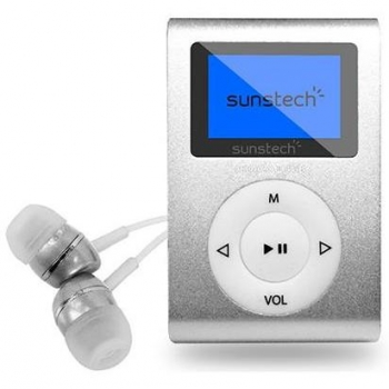 Reproductor MP3 Sunstech 4GB Dedalo III - Plata