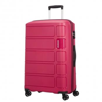 0fd45403a Trolley Splash 77 Cm Grande con Doble Rueda Cerradura TSA Rosa Oscuro