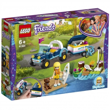 LEGO Friends - Buggy y Remolque de Stephanie
