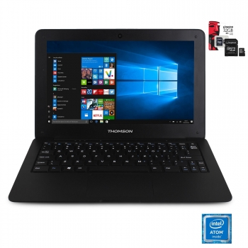 "Portátil Thomson SP-Neo 10 con Intel, 1GB, 32GB, 25,65 cm - 10,1"" con MicroSD Kingston 32GB"