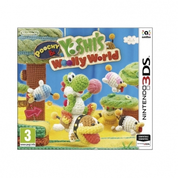 Poochy and Yoshi's Woolly World para 3DS